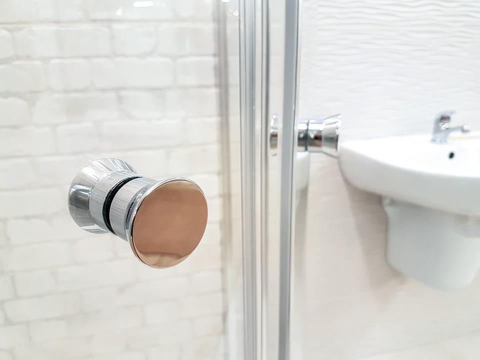 łazienka w hotelu
